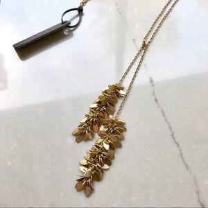 J. Crew Jewelry - J. Crew Long Gold Necklace
